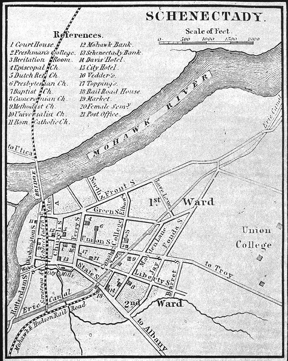 History of Schenectady County New York City of Schenectady