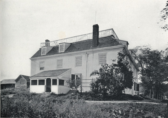 Early Photographs Of Schenectady Glen Sanders House