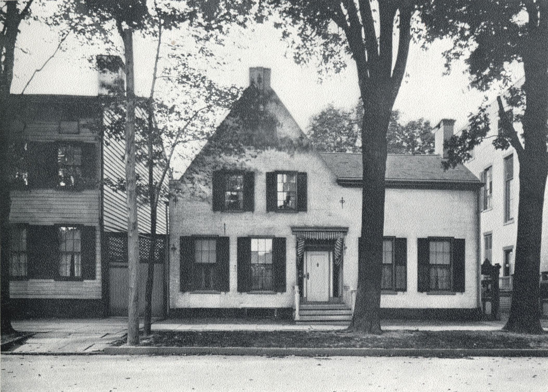 Early Photographs Of Schenectady Old Yates House