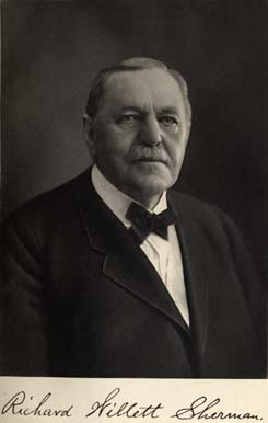 Portrait of richard willett sherman
